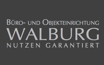 Logo: WALBURG Büro- und Objekteinrichtung